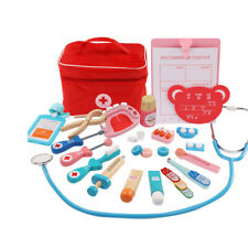Children Pretend Play Medical Set Kids Dentist Doctor Role Play Puzzle Toy Kit