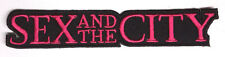 "Sex and the City Die Cut Logo  4.5"" Embroidered Patch- FREE S&H (EBPA-SEXC)"