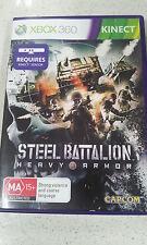 steel battalion heavy armor xbox 360