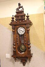 Mauthe Keyhole  German wall clock at 1880