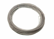 NEW GALVANISED GARDEN FENCE WIRE 1.25 MM 50 METRES - 20 rolls each 0.5kg in wei