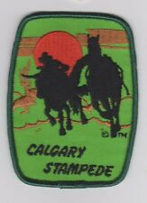 CALGARY STAMPEDE (collectors patch/crest) 3 in. x 4 in.