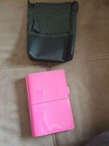 Ungenutzter Filofax in Pink Mit Tasche und Zubehör Organizer Terminkalender