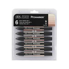 Winsor & Newton ProMarker Marqueur Stylo 6 couleurs de peau couleurs Set 1