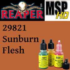 SUNBURN FLESH 29821 - MSP HD 15ml 1/2oz paint pot peinture REAPER MINIATURE