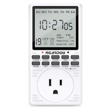 Outlet Timer, Nearpow Multifunctional Programmable Timer with Countdown