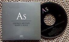 GEORGE MICHAEL & MARY J. BLIGE / AS - CD single (UK 1999 - promo)