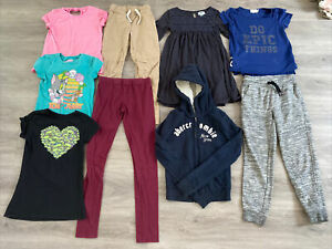 Girls Clothing Lot, 9 Items, Size 8, TMNT, Tom & Jerry, Abercrombie, Old Navy