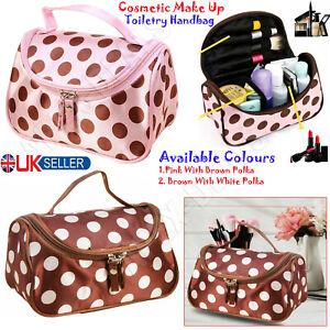Large Cosmetic Make Up Travel Toiletry Wash Bag Portable Box Case Holder Handbag