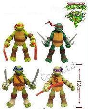 """Lovely 4pcs TMNT Teenage Mutant Ninja Turtles Classic Collection 4.7""""Figure"""