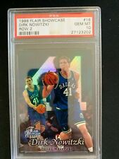1988 Flair Showcase Dirk Nowitzki Row 2 PSA 10