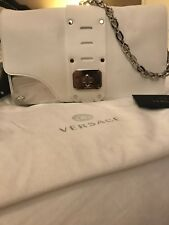 Handbag  White VERSACE ORIGINAL **** Not A Knockoff**** Made In Italy