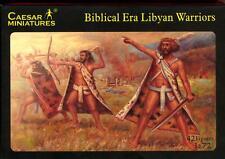 Caesar Miniatures 1/72 BIBLICAL ERA LIBYAN WARRIORS Figure Set