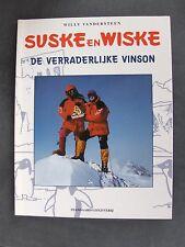 Suske en Wiske de verraderlijke vinson met Witte omslagcover 1998