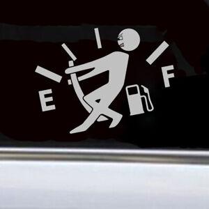 Funny Sticker High Gas Consumption Car Bumper Window Door Decal Cars Accessories