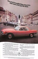 Original 1970s 'Mercedes Benz 450SLC' Advertisement from Country Life Magazine