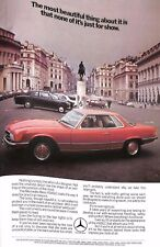 Original Vintage Car Advert 'Mercedes Benz -450SLC' -Country Life Magazine June
