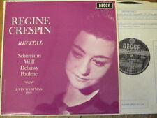 SXL 6333 Regine Crespin Recital W/B