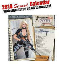 Tactical Girls 2019 Gun Calendar - Signed with 13 Autographed Months!