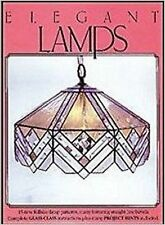 Stained Glass Pattern Book Elegant Lamps