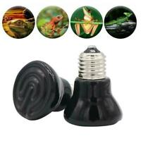 Infrared Ceramic Emitter Heat Lamp 25-100W For Reptile Pets Light Brooder F6B5