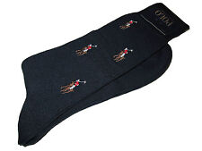 Polo Ralph Lauren Big Pony Navy Blue Dress Shoes Socks