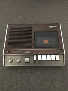 Vintage Sony TC 146A Solid State Cassette Player Recorder