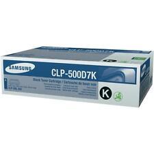 Original Samsung tóner clp-500d7k negra para Samsung clp-500/550/510 a-Ware