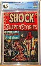 Shock SuspenStories #6 - CGC 8.5 - Off-White Pages - Ultra clean case