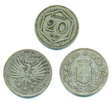 Italien-Regno, Lot v. 3 Münzen, u.a. 1 Lira 1886 + 1906