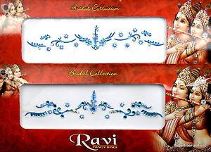 1 PACK of BRIDAL Turquoise *CHOOSE YOUR STYLE* Indian  Gem TIKKA Festival BINDI