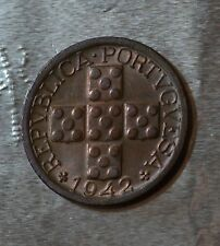 PORTUGAL,1942 - 10 Centavos - Bronze - Excellent condition    [#8027]