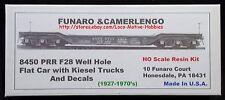 LMH Funaro F&C 8450  WELL HOLE Flat PRR F28 Pennsylvania Depressed KIESEL TRUCKS