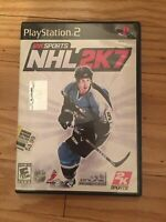2KSPORTS NHL 2K7 - PS2 - COMPLETE W/MANUAL - FREE S/H (K)
