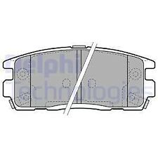 Genuine Delphi LP1988 Vauxhall Antara And Chevrolet Captiva Rear Brake Pads Set