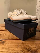 Trickers Mens Two Tone Derby Brogue Size 9UK NIB