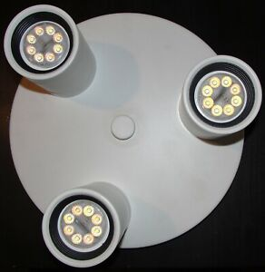 IKEA SMART LIGHTING NYMANE ADJUSTABLE CEILING SPOTLIGHT WITH 3 SPOTS WITH SWITCH