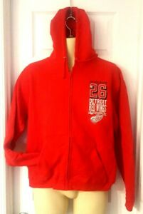 DETROIT RED WINGS Youth Hoodie Small Medium or Large Pullover Sweatshirt New