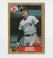 1987 Topps Baseball Card  #150 Wade Boggs Boston Red Sox 3B