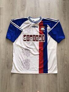 Maillot Préparé Porté Devaux Ol Lyon Olympique Lyonnais 97-98 Coupe Intertoto