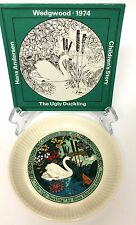 Wedgwood Children's Story 1974 Plate The Ugly Duckling Hans Christian Anderson