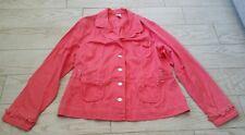 Fashion Bug Stretch Button Down Jacket/Coat size 22W - pink