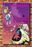 Travis Scott Astroworld Hot Album Hip Hop Rap Poster 30 24x36in Y-116