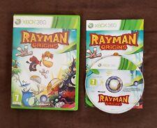 Jeu Xbox 360 Rayman Origins pal notice