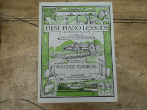 First Piano Lessons - Scenes at a Farm - Walter Carroll
