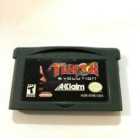Turok Evolution Nintendo Game Boy Advance Game - Tested Working & AUTHENTIC