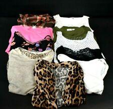 Wholesale Bulk Women's Small Spring & Summer Cardigans & Blouses Lot of 10