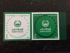 UAE 2018 Dubai Police MNH Stamp Set Anniversary