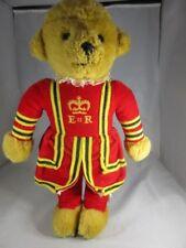 "Harrods Knightsbridge/Royal Guard Teddy Bear by Merrythought-18"" Tall Ra"