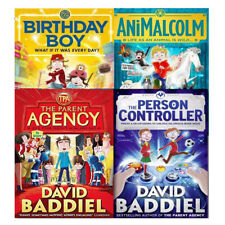 David Baddiel Collection 4 Books Set Birthday Boy The Parent Agency NEW Pack